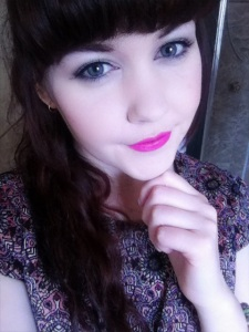 Bright Pink Lipstick Day