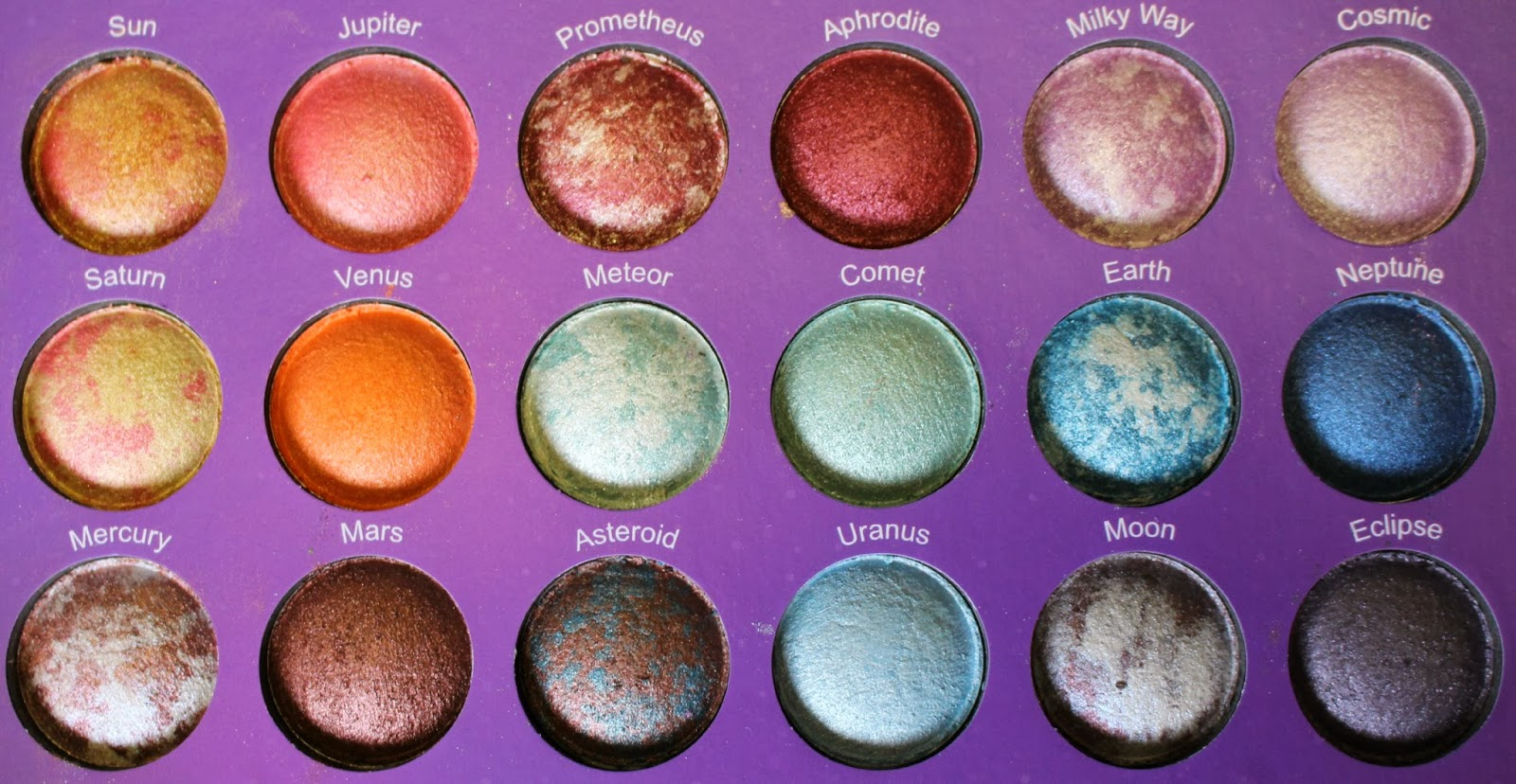 Review: BH Cosmetics Galaxy Chic Palette + Swatches ...