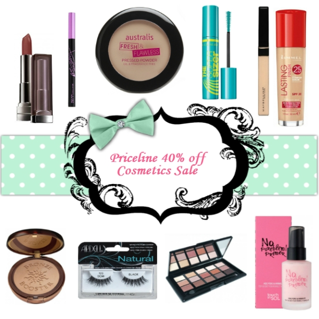 40 of cosmetics