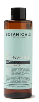 Botanicals Unwind Body Oil