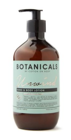Botanicals Unwind Hand and Body Lotion