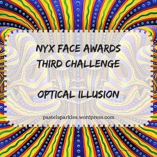 NYX FACE AwardsThird ChallengeOptical Illusion