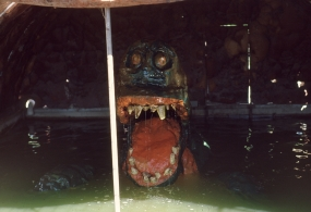1972: Original Bunyip attraction