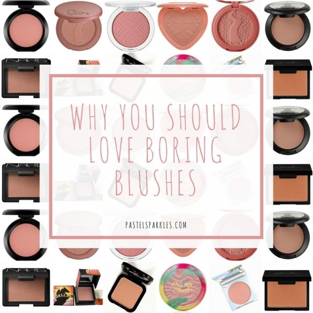 boring blushes